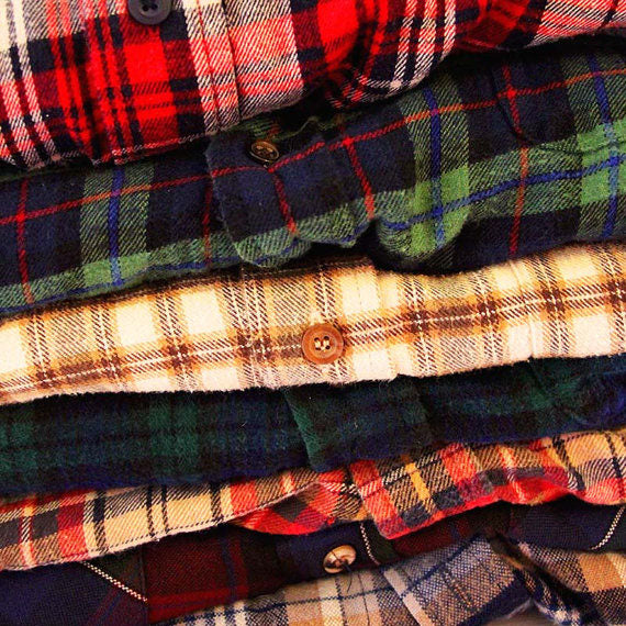 Mystery Vintage Flannel Shirt