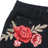 Desert Rose Distressed Shorts