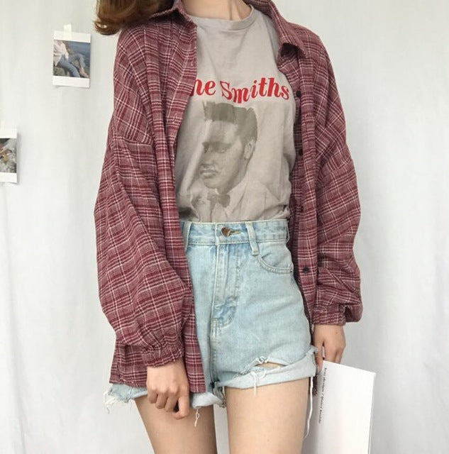 Women's Grunge Flannel