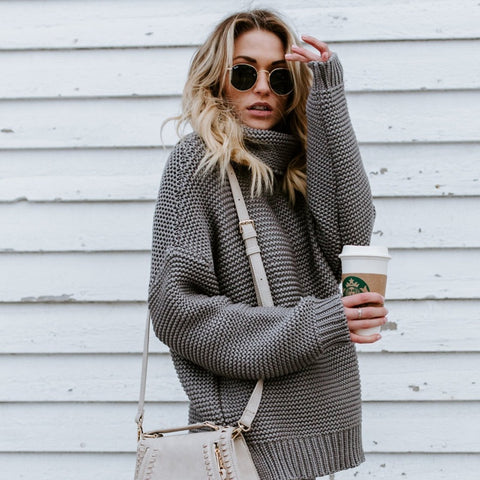 Chunky Knit Oversize Sweater