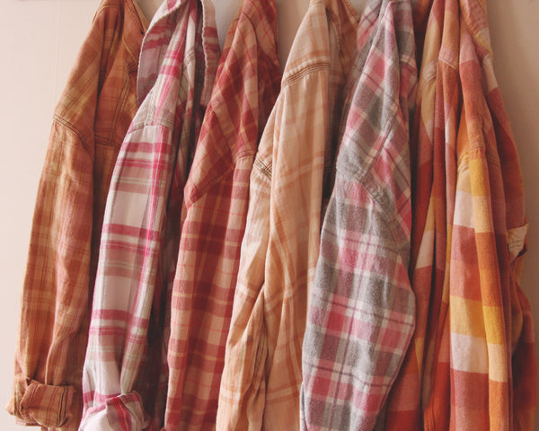Rose Bleached Flannels