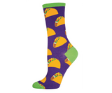 Purple Taco Socks