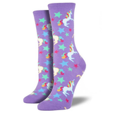 Purple Unicorn Socks