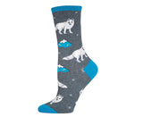 Arctic Fox Socks (Gray)