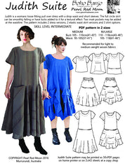 Judith Suite pdf sewing pattern, 2 MEDIUM SIZES