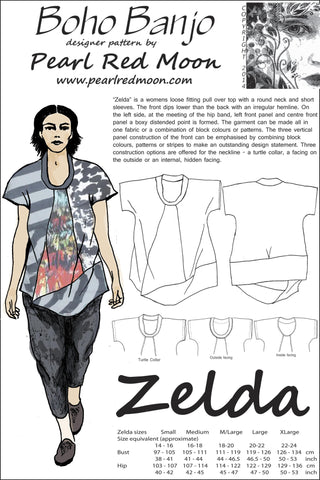 Zelda Top pdf pattern