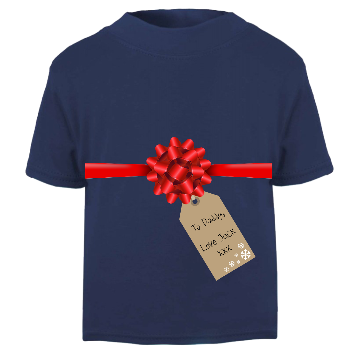 dd64572b972 Gift Wrapped - Personalised Kids T-Shirt – Purple Penguin Clothing