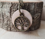 The Original Tree of Life Essential Oil Diffuser Necklace -- FREE SHIPPING