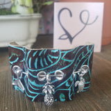 Leather Bangle Essential Oil Diffuser Bracelet-- FREE SHIPPING