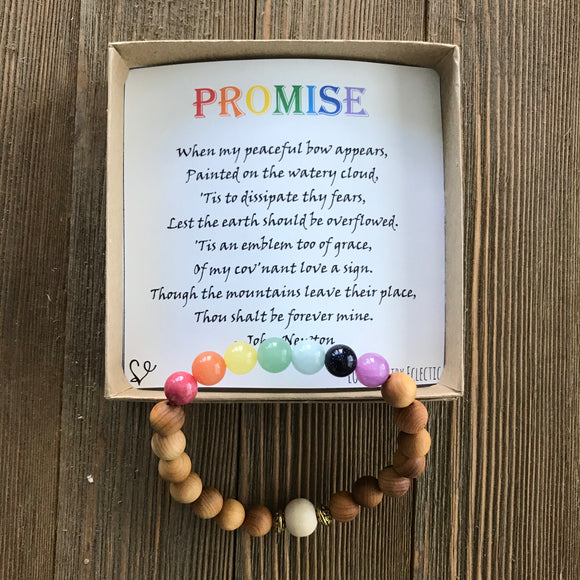 Promise Gemstone Essential Oil Diffuser Bracelet-- FREE SHIPPING