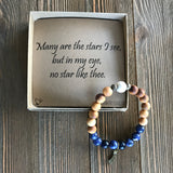Many are the Stars Gemstone Essential Oil Diffuser Bracelet-- FREE SHIPPING