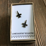 F18 Hornet Jet Earrings