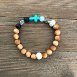 Gospel Gemstone Essential Oil Diffuser Bracelet-- FREE SHIPPING