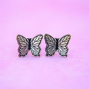 Dainty Butterfly Earrings // The Gumball Jackpot Collection