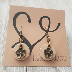 The ORIGINAL Dogwood Essential Oil Diffuser Earrings -- FREE SHIPPING