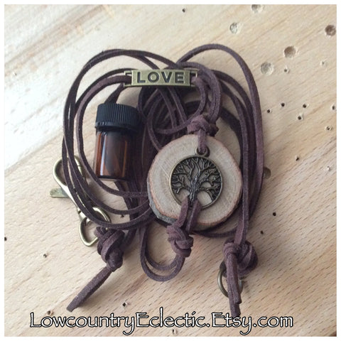 Tree of Life Essential Oil Diffuser Bracelet -- FREE SHIPPING