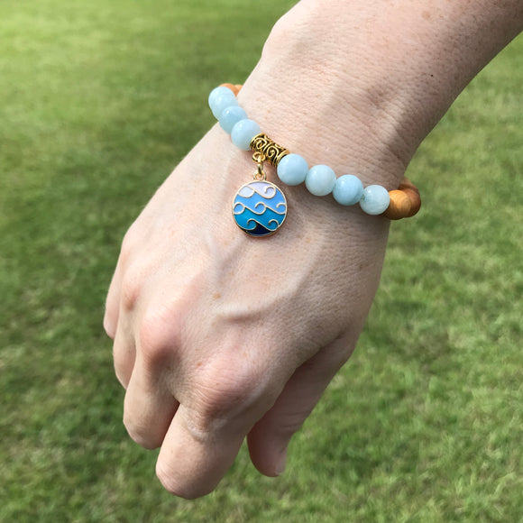 It is Well Gemstone Essential Oil Diffuser Bracelet-- FREE SHIPPING