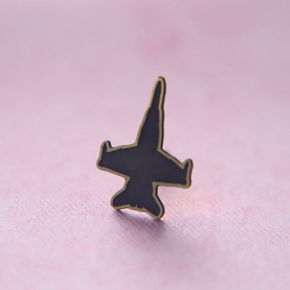 F18 Jet Lapel Pin // The Gumball Jackpot Collection