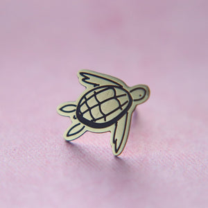 Sea Turtle Lapel Pin // The Gumball Jackpot Collection