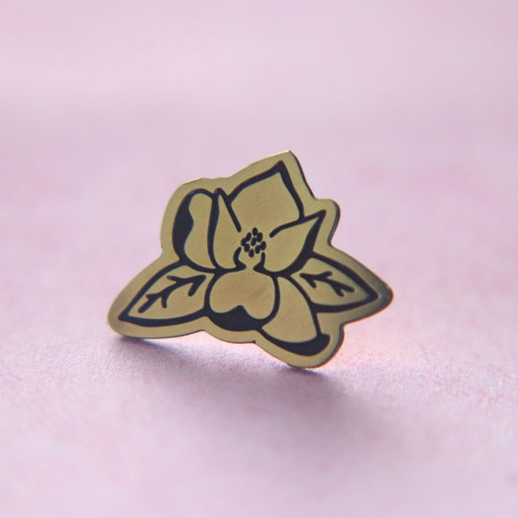 Southern Magnolia Lapel Pin // The Gumball Jackpot Collection