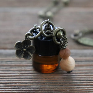 Rainbow Row On-the-Go Vial Essential Oil Necklace -- FREE SHIPPING // GALLERY LINE