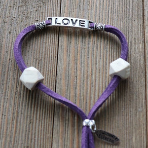 LOVE Easy-Wrap Essential Oil Diffuser Bracelet // FREE SHIPPING