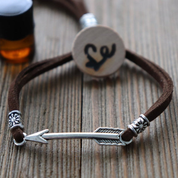 Arrow Easy-Wrap Essential Oil Diffuser Bracelet // FREE SHIPPING