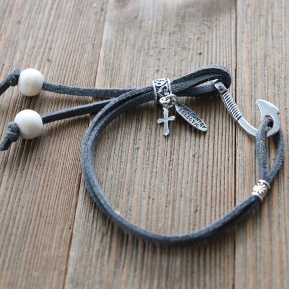 Fishhook Easy-Wrap Essential Oil Diffuser Bracelet // FREE SHIPPING