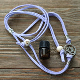 Lotus Easy-Wrap Essential Oil Diffuser Bracelet // FREE SHIPPING