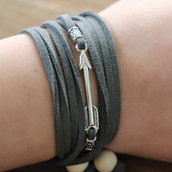 Copy of Arrow Easy-Wrap Essential Oil Diffuser Bracelet // FREE SHIPPING
