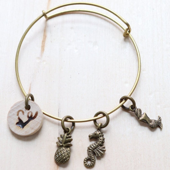 Sea Life Essential Oil Diffuser Bracelet