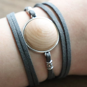 Easy-Wrap Essential Oil Diffuser Bracelet // FREE SHIPPING