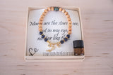 Many are the Stars Dainty Diffuser Essential Oil  Bracelet