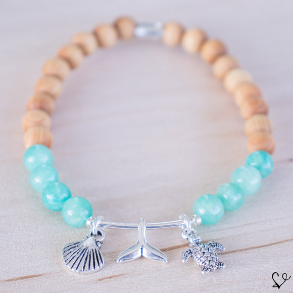 Sea Life Dainty Diffuser Essential Oil Bracelet