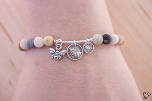 Bee the Change Dainty Diffuser Bracelet