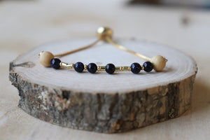 Peace Slider Essential Oil Diffuser Bracelet//Daught & Dash Collection