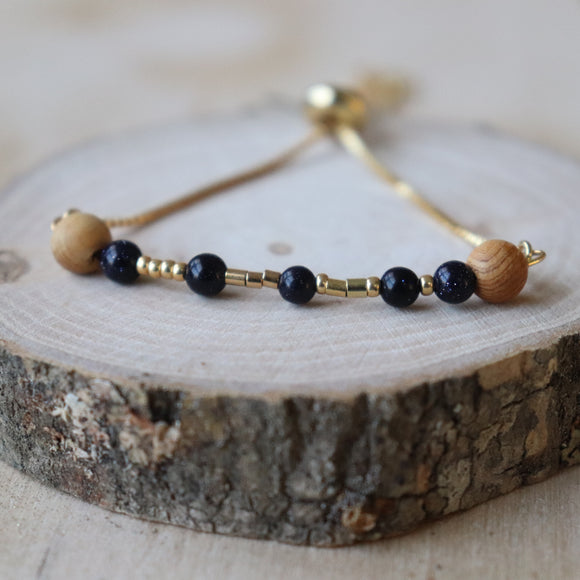 Hope Slider Essential Oil Diffuser Bracelet//Daught & Dash Collection