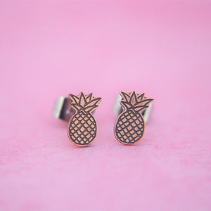 Pineapple Earrings // The Gumball Jackpot Collection