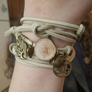 FOCUS Charm Wrap Diffuser Bracelet // FREE SHIPPING in the U.S.