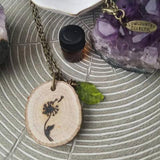 The ORIGINAL Statement Essential Oil Diffuser Necklace // Dandelion -- FREE SHIPPING