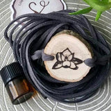 Magnolia Essential Oil Diffuser Bracelet - FREE SHIPPING // Statement Line