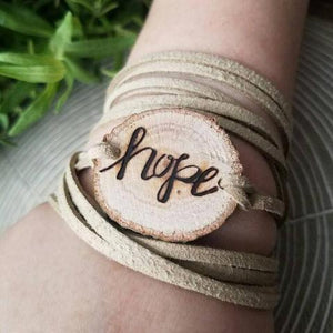 Hope Essential Oil Diffuser Bracelet -- FREE SHIPPING // The Statement Line