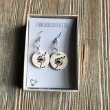 Dandelion Essential Oil Diffuser Earrings -- FREE SHIPPING