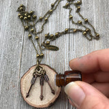 The Flashback Necklace//The Original Essential Oil Diffuser Necklace Design -- FREE SHIPPING