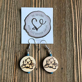 Magnolia Essential Oil Diffuser Earrings -- FREE SHIPPING