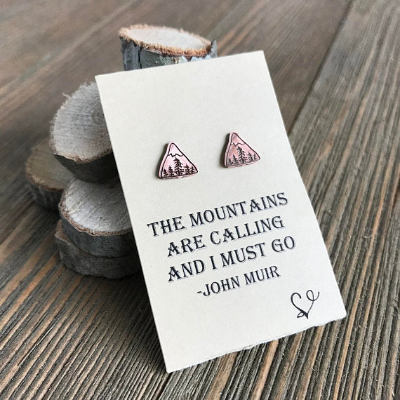 John Muir Inspired Earrings