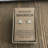 Classy Magnolia Earrings