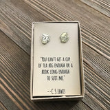 C.S. Lewis Inspired Earrings