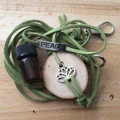 PEACE Lotus Essential Oil Diffuser Bracelet -- FREE SHIPPING