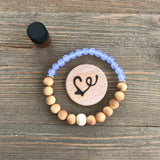 Uniquartz Gemstone Essential Oil Diffuser Bracelet-- FREE SHIPPING